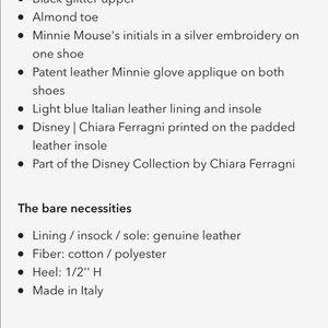 Disney Shoes - Chiara Ferrangi x Disney Glitter Mules